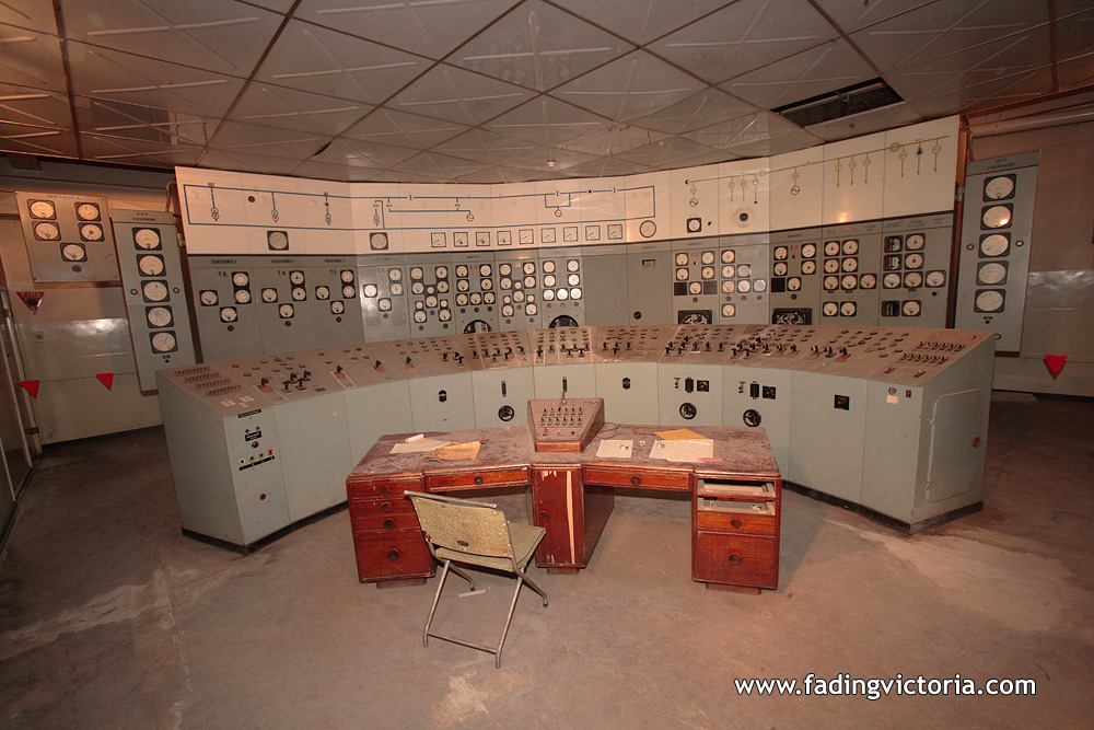 Power station control room